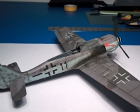 FW-190 F8 Eduard in 1/72