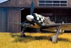 Der Kontrast zwischen dem Gelb auf der Unterseite und dem Schwarz/Weiß erinnert schon beinahe an die farbenfrohen Jagdflugzeuge des ersten Weltkrieges