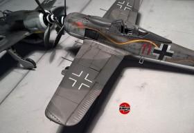 Die Details des Airfix Modells fallen ein wenig nüchterner aus