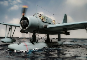 Airfix-Vought-OS2U-1-Kingfisher-001