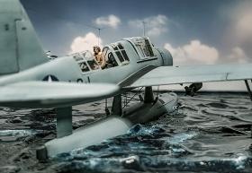 Airfix-Vought-OS2U-1-Kingfisher-003