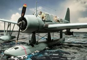 Airfix-Vought-OS2U-1-Kingfisher-004