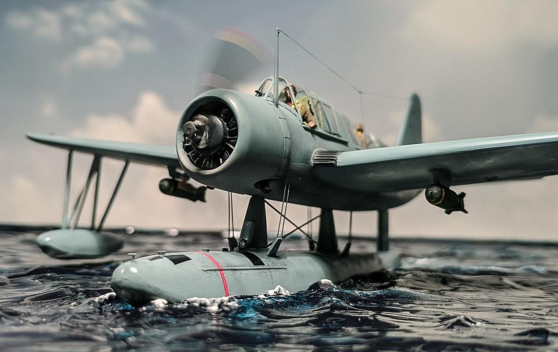 Airfix-Vought-OS2U-1-Kingfisher-006