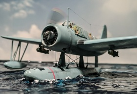 Airfix-Vought-OS2U-1-Kingfisher-006