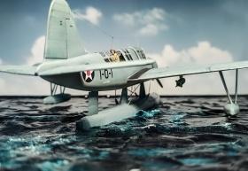 Airfix-Vought-OS2U-1-Kingfisher-008