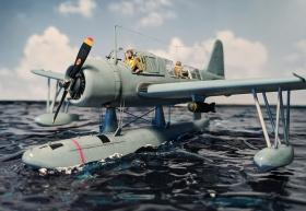Airfix-Vought-OS2U-1-Kingfisher-030