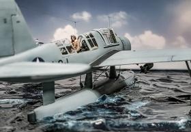 Airfix-Vought-OS2U-1-Kingfisher-031