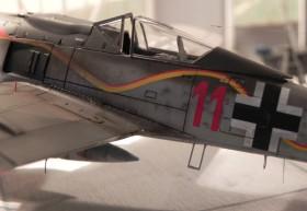Schöne Oberflächendetails des Airfix Kits, aber ein wenig zu tiefe Blechstöße