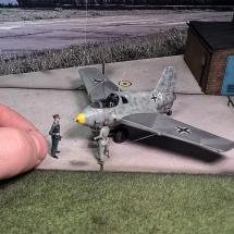 Preiser Luftwaffe Figuren Offiziere Piloten 1-72 Diorama-2
