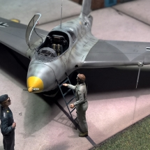 Preiser Luftwaffe Figuren Offiziere Piloten 1-72 Diorama