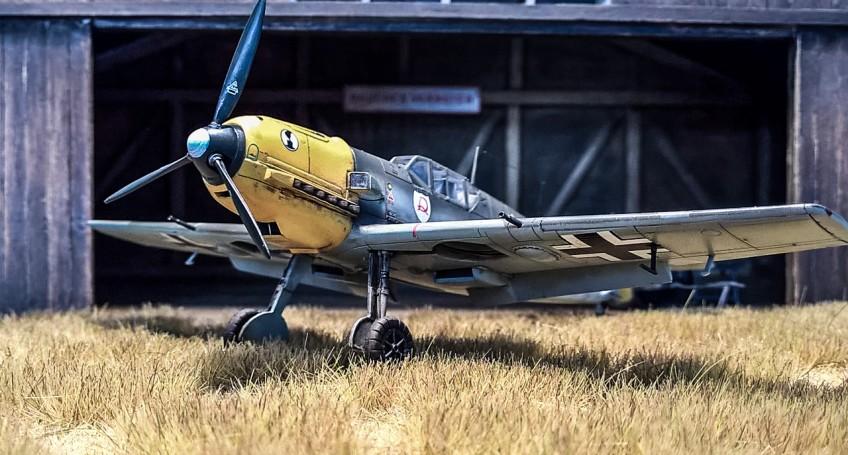 Bf-109 E Airfix 1/72