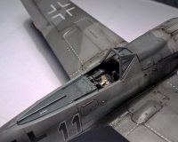 Cockpit der FW-190 in 1/72