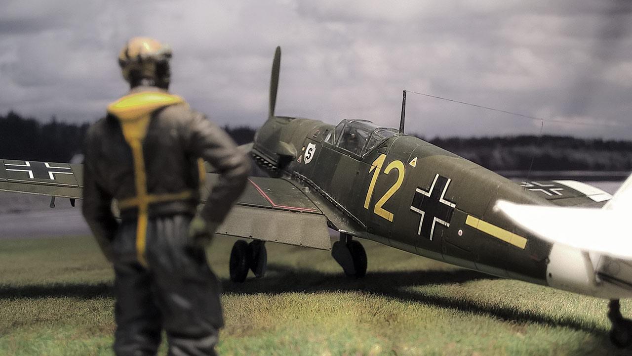 airfix-bf-109E1-1