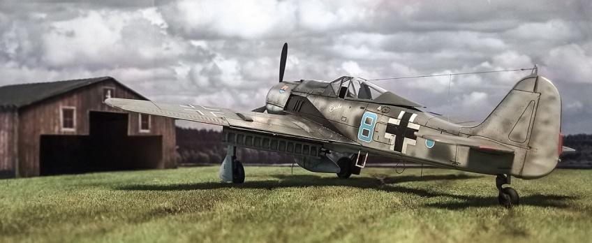 FW-190A8 Airfix _1_72 Eismeer