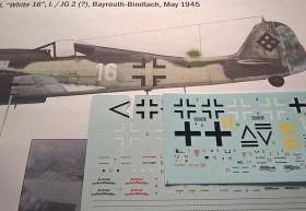 Die Decals des Bausatzes weisen falsche Balkenkreuze auf (Form) Ich habe statt dessen die von EagleCalls benutzt