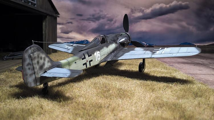 AZ Model FW-190 D9 in1/72 fertig!