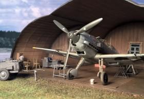 Probeaufnahme des Airmodel-Hangars
