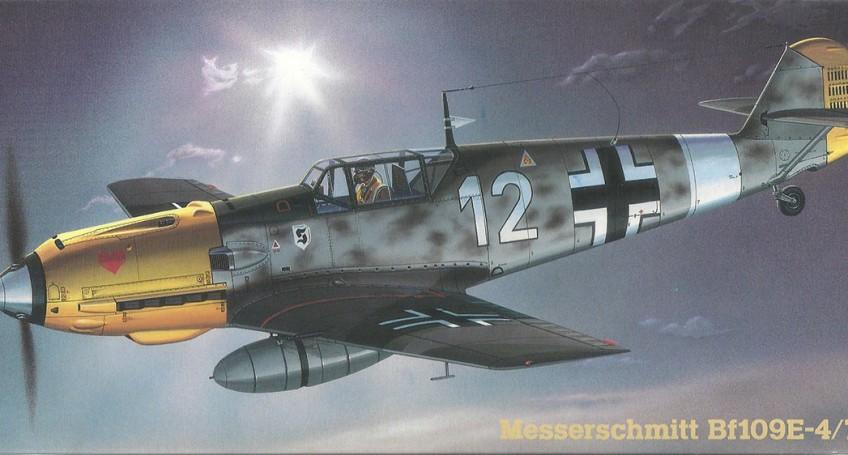 Boxart Bf-109 E4 Hasegawa