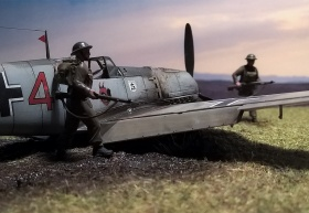 Airfix-Bf-109E-Crash-04