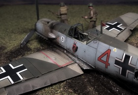 Airfix-Bf-109E-Crash-05