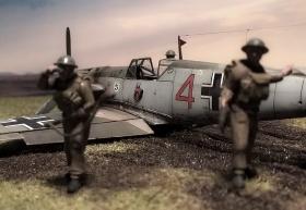Bf-109 E von Airfix