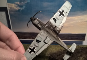 Airfix-Bf-109E-Crash-15