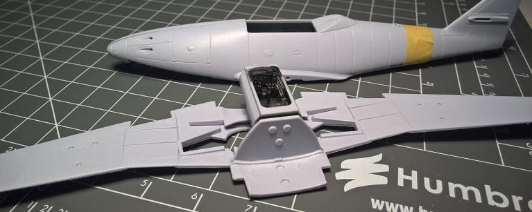 new tool Airfix Me262 build 1/72