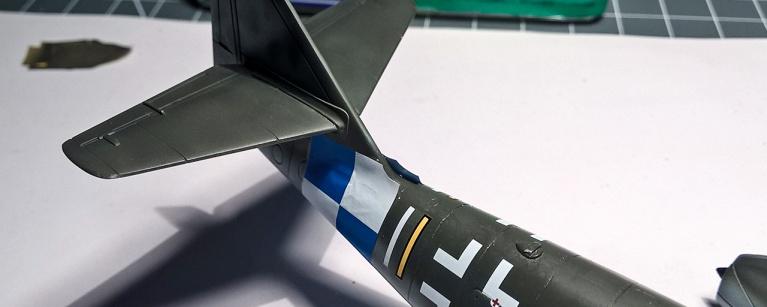 Airfix Me262 Decals