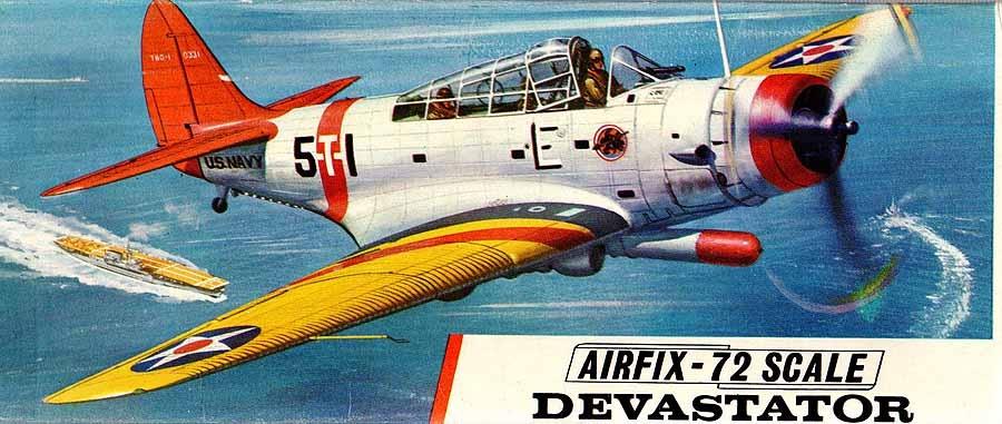 Airfix TBD1 Boxart