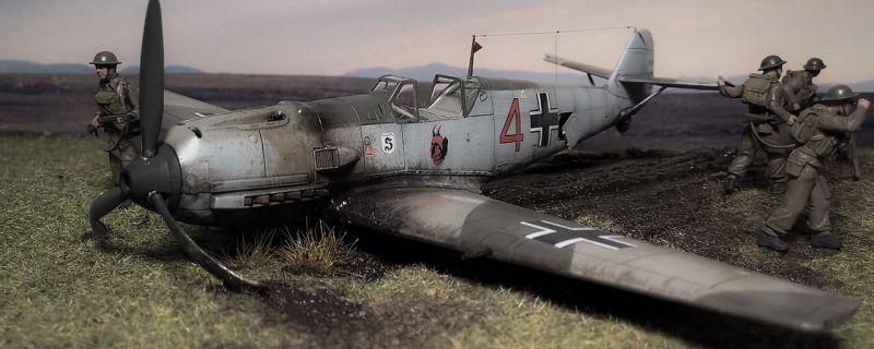 Airfix Bf-109 E, ein toller Bausatz…