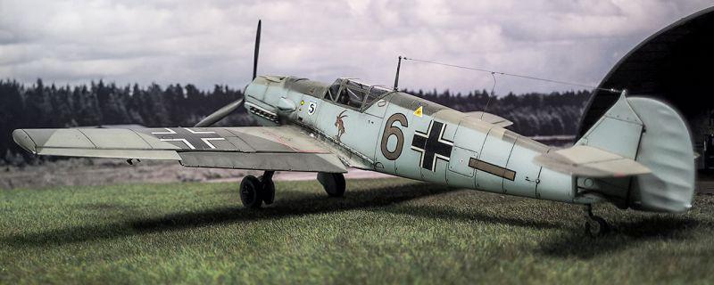 Airfix Bf-109E3 Schlageter Duo auf der Webseite von Airfix